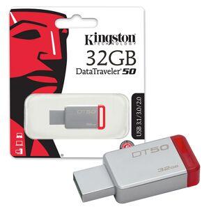 Kingston Data Traveler DT50 USB 3.0 Flash Drive USB 3.0 Memory Stick - 32GB
