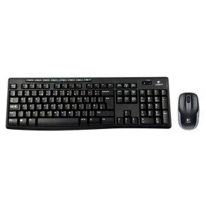 Logitech MK270 Wireless Keyboard and Mouse Desktop Combo Set - UK QWERTY