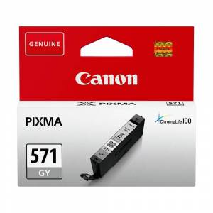 Canon Original CLI-571GY Ink Cartridge Grey
