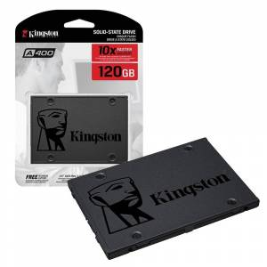 Kingston Technology A400 SSD Solid State Drive 2.5 Inch SATA 3 SA400S37/120G - 120GB