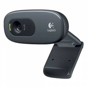 Logitech C270 3 Mega Pixel USB 2.0 HD 720P Webcam with Microphone for Use with SKYPE etc.