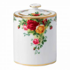 Wedgwood Royal Albert Old Country Roses Tea Caddy