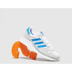 adidas Originals ZX 500 Women's, White/Blue  - White/Blue - Size: 3.5