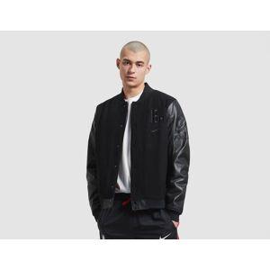 Nike Mens Nike Courtside NBA 'Paris' Jacket - Black, Black  - Black