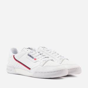 adidas Originals Continental 80 Vegan Heren, White/Red/Blue  - White/Red/Blue