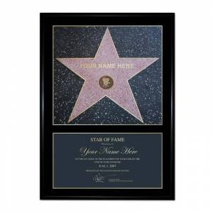 Crowther Personalised Star of Fame