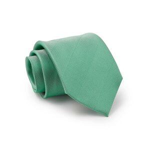 Savile Row Company Pale Green Wide Herringbone Silk Tie