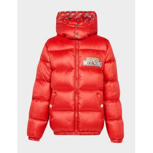 Moschino Kid's Moschino 3 Bear Padded Jacket Red, Red  - Red - Size: 10Y
