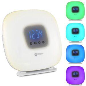 Ottlite LED Wake Up Light & Alarm Clock FM Radio USB Colour Changing