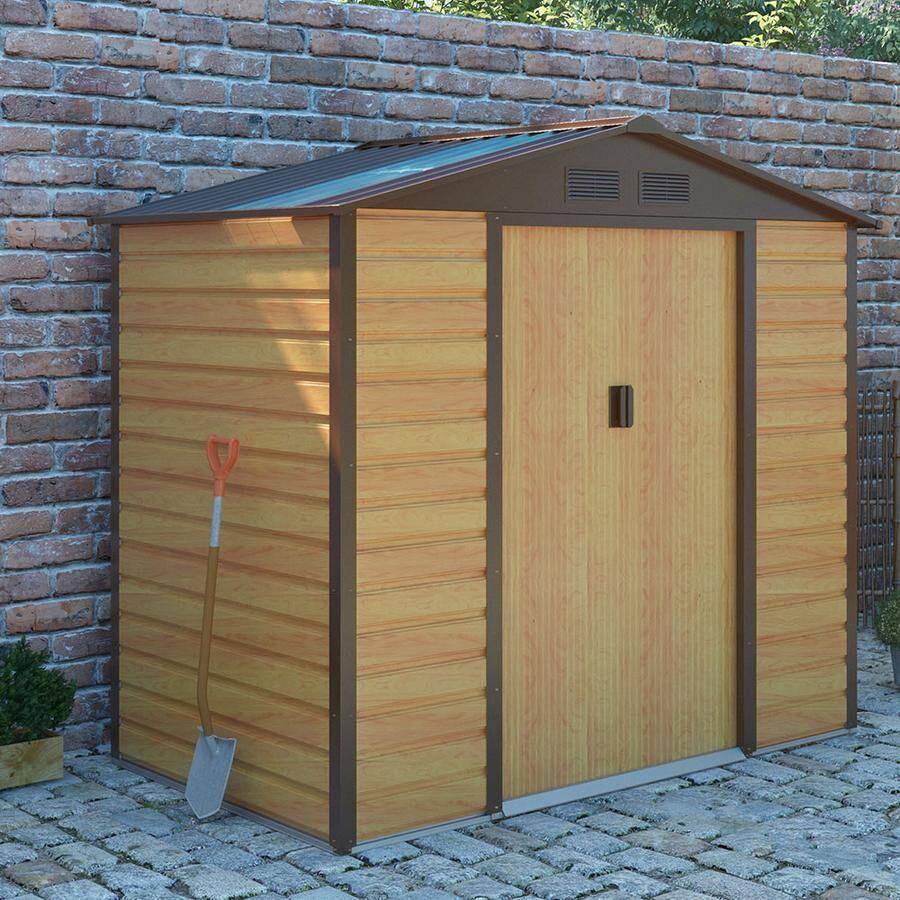 Only Oak Furniture Royalcraft Cambridge Oak Shed