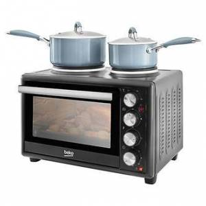Beko MSH28B Table Top Compact Electric Cooker in Black 28L