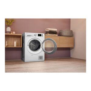 Hotpoint NTM1192SK 9kg Heat Pump Condenser Tumble Dryer in White A Rat