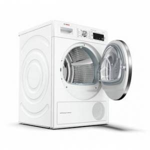 Bosch WTW87561GB Serie 8 9kg Heat Pump Tumble Dryer in White A Rated
