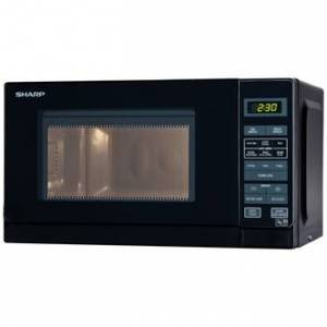 Sharp R272KM Compact Microwave Oven in Black 20 Litre 800W