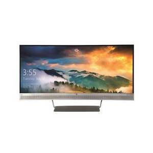 HP S340c Wide Quad HD Curved Monitor 34 Inch Matte Silver