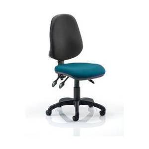 Eclipse III Lever Task Operator Chair Bespoke Colour Seat - KCUP0271