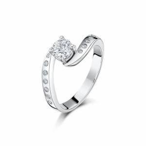Becky Rowe Palladium & Diamond Hummingbird Engagement Ring   Becky Rowe - UK L - US 5.75 - EU 51.2()