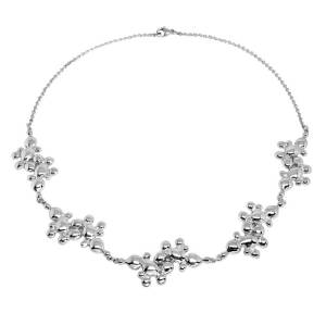 Julie Nicaisse Jewellery Sterling Silver Vulcan Choker Necklace(Silver)