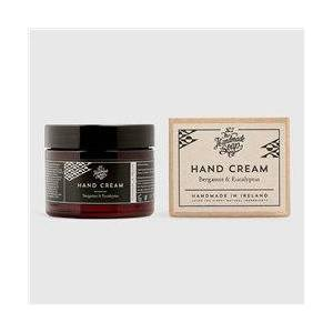 The Handmade Soap Company Bergamot & Eucalyptus Hand Cream Black  - Black