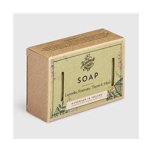 The Handmade Soap Company Lavender/ Rosemary/ Thyme & Mint Soap Green  - Green