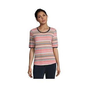 Betty Barclay Waffle T-Shirt Pink  - Pink - Size: 12