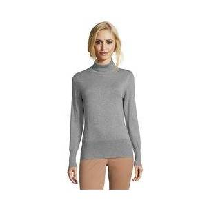Betty Barclay Polo Neck Long Sleeve Jumper Grey  - Grey - Size: 18