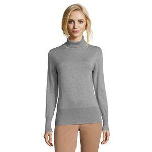 Betty Barclay Polo Neck Long Sleeve Jumper Grey  - Grey - Size: 18
