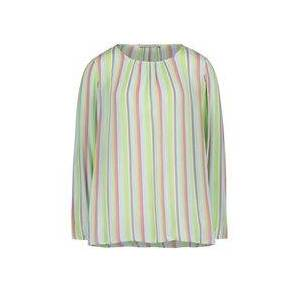 Betty Barclay Pastel Stripe Blouse Green  - Green - Size: 16