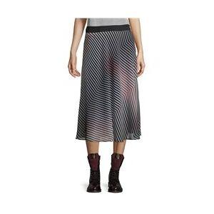 Betty & Co Chiffon Layered Skirt Rose  - Rose - Size: 18