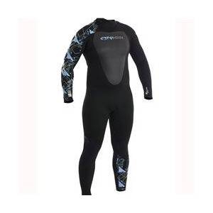 Typhoon Womens Vortex Ladies 5mm Wetsuit  - Sky Blue - Size: 14