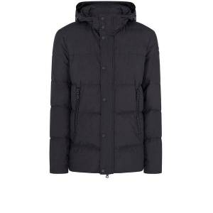 Paul & Shark Typhoon 20000 Stand Collar Jacket in Black  - Black - Size: Extra Large