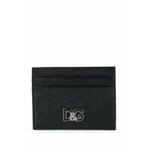 Dolce & Gabbana Leather Card Holder Black