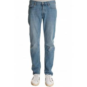 PAUL SMITH Tapered Fit Light Washed Jeans
