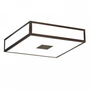 Astro Lighting Mashiko Square LED Ceiling light - / 40 x 40 cm - Polycarbonate by Astro Lighting Metal