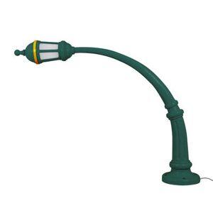 Seletti Street Lamp Outdoor Floor lamp - / Resin - L 242 x H 190 cm by Seletti Green