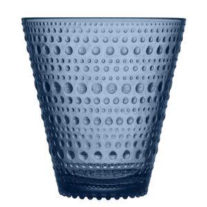 iittala Kastehelmi Glass - Set of 2 glasses - 30 cl by Iittala Grey