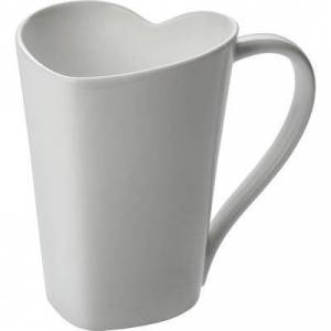 Alessi To Mug by Alessi White