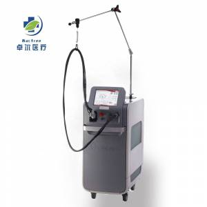 Top China Supplier long pulse ND YAG laser 1064 nm Alexandrite 755nm laser for Hair Removal