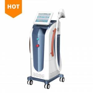 Beauty system skin rejuvenation diode laser 755 nm 808nm 1064nm hair removal laser beauty equipment