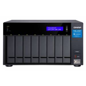 QNAP TVS-872XT i5-8400T Ethernet LAN Tower Black NAS