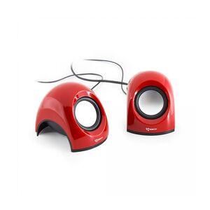 SBOX SP-092R USB Stereo Speaker, Red (SP-092R)