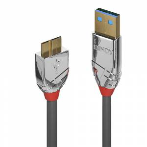 Lindy 36656 USB cable 0.5 m USB 3.2 Gen 1 (3.1 Gen 1) USB A...