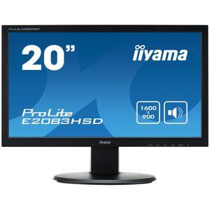"iiyama ProLite E2083HSD-B1 LED display 49.5 cm (19.5"") 1600 x 900..."