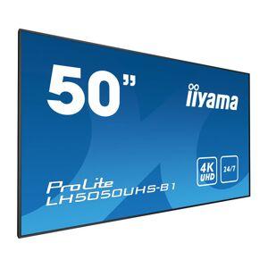 "iiyama LH5050UHS-B1 signage display 127 cm (50"") LED 4K Ultra HD..."