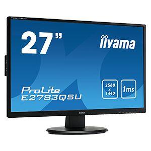 """iiyama ProLite E2783QSU-B1 computer monitor 68.6 cm (27"""") 2560 x..."""