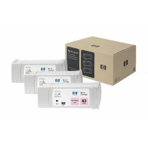 HP C5077A (83) Ink cartridge bright magenta, 1.31K pages, 680ml,...
