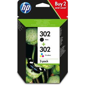 HP X4D37AE (302) Printhead cartridge multi pack, 190pg + 165pg,...