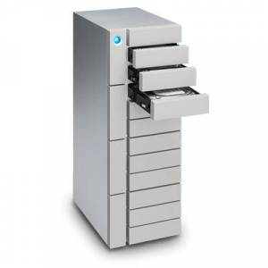 LaCie 72TB 12big Thunderbolt 3 disk array Desktop Silver