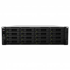 Synology RS4017XS+/256TB-SE NAS/storage server Rack (3U) Black, Grey