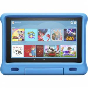 "Amazon Fire Tablet Amazon Fire HD Kids Edition 10.1"" 32GB Wifi Tablet with Alexa [2019] - Blue"